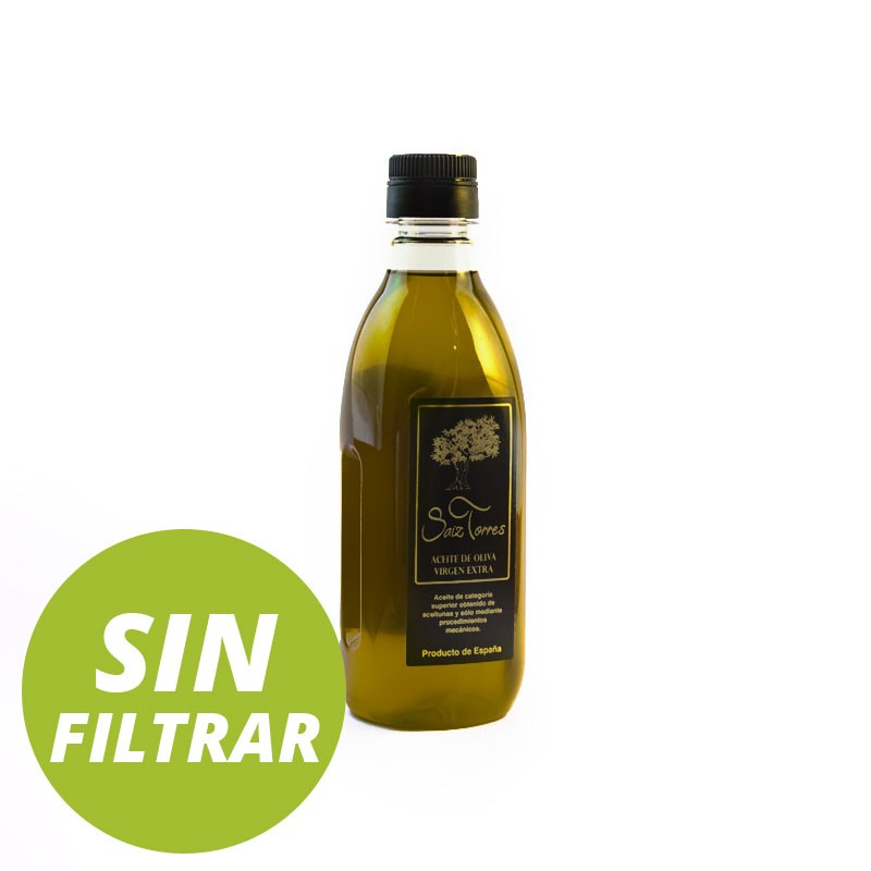 Botella PET 500 ml AOVE SIN FILTRAR